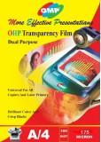 GMP 175 Micron Transparent Film 100 Shee...