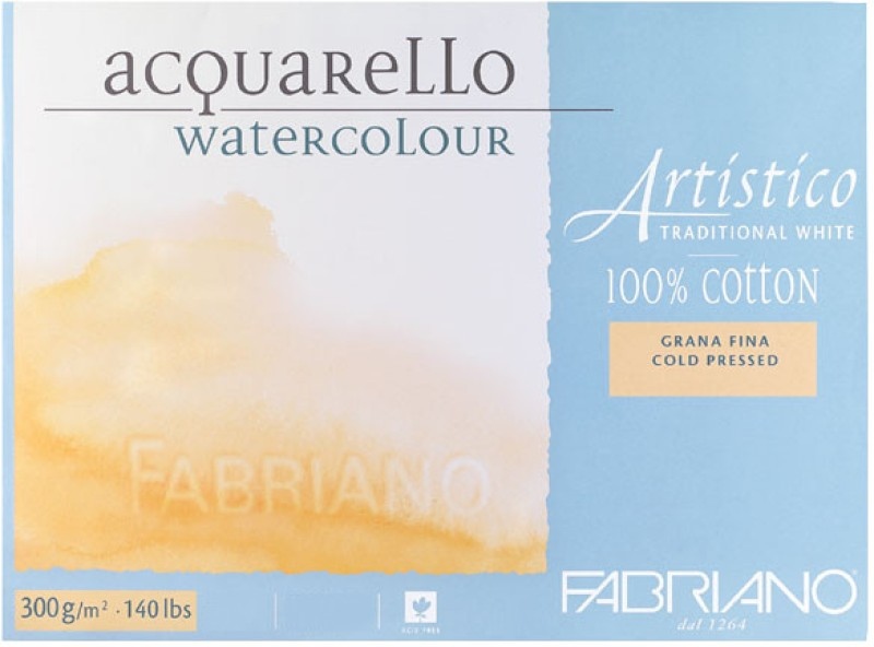 Fabriano Artistico Traditional White Watercolor Paper