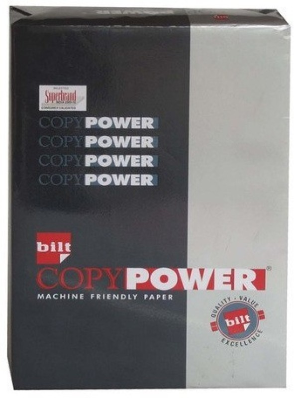 Bilt Super Series Unruled A4 Printer Paper(Set of 1, White)