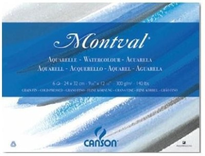 Canson Montval Unruled 24 x 32 CM Watercolor Paper