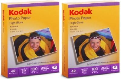 Kodak High Gloss Unruled 4R Inkjet Paper