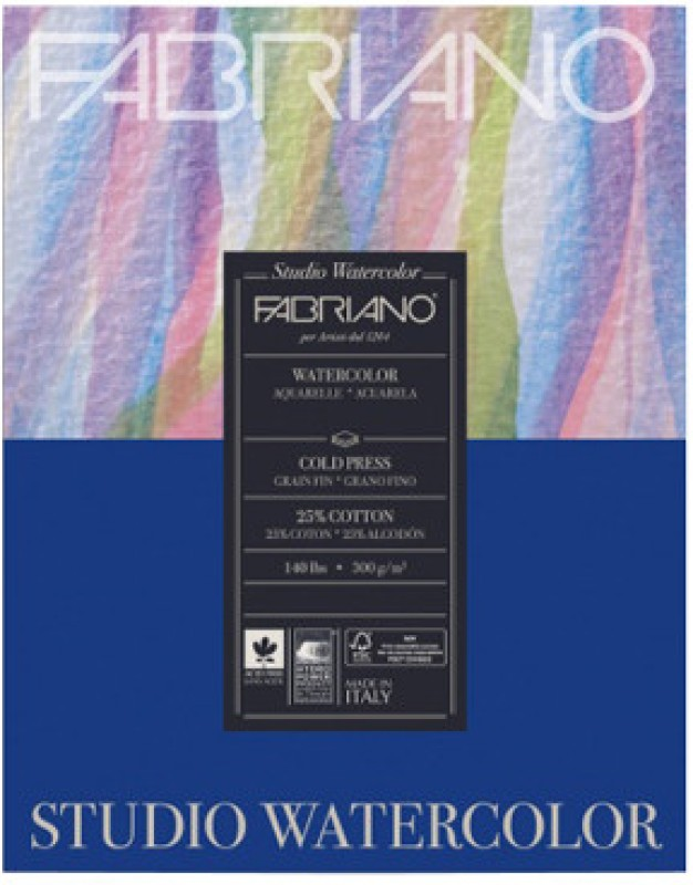 Fabriano Studio Watercolor Paper