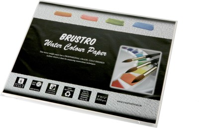 Brustro Watercolor Paper 300 gsm Pack (9