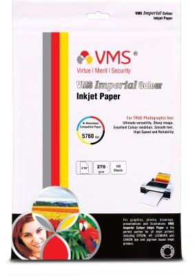 VMS High Gloss Unruled 4R Inkjet Paper