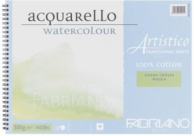 Fabriano Artistico Traditional White Unruled Watercolor Paper