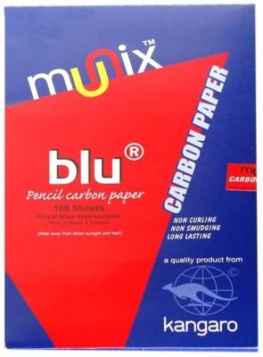 Kangaro Carbon Unruled FS Carbon Paper(Set of 1, Blue)