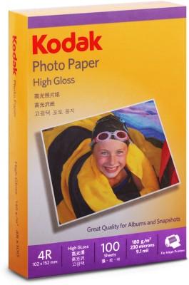 Kodak Gloss Unruled 4R A4 paper