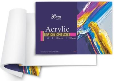 Campap Arto Linen Canvas Texture A/3 Acrylic Paper