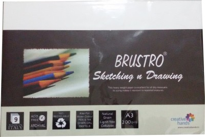 Brustro Artist A3 Drawing Paper
