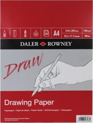 Daler-Rowney Medium Grain A4 Drawing Paper
