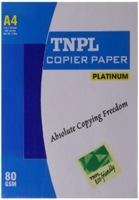 TNPL 80 GSM Unruled A4 A4 paper