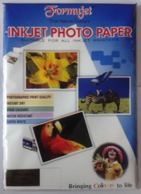 Formujet A450 Sheets Unruled A4 Photo Paper