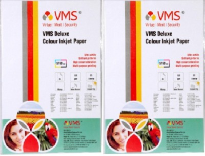 VMS High Gloss Unruled A4 Inkjet Paper