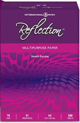 Reflection Smooth Unruled A4 A4 paper