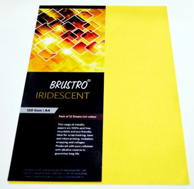 Brustro Iridescent Unruled A4 Project Paper