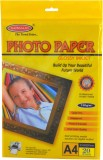 Bambalio Glossy Photo Paper Unruled A4 P...