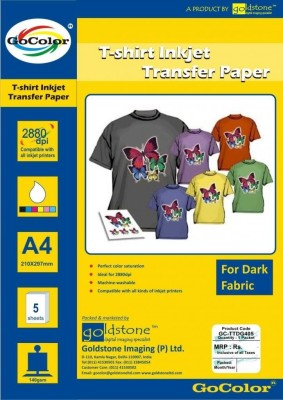 Go Color Transfer Paper Unruled A4 Transfer Paper
