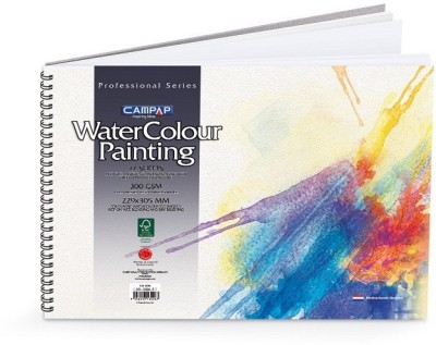 Campap PROFESSIONAL Unruled A4 Watercolor Paper
