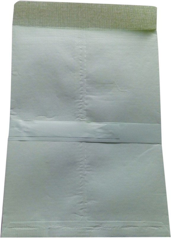 BoardRite Premium Unruled 14 inches x 10 inches Envelope Paper(Set of 100, Light Green)