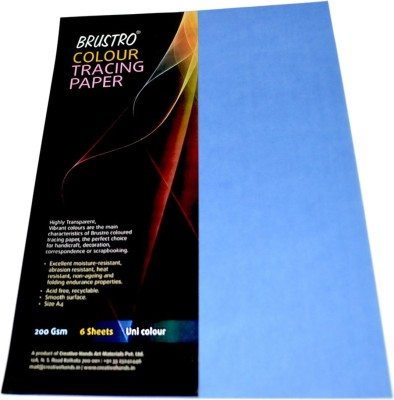Brustro Colour Tracing Paper Unruled A4 Drawing Paper