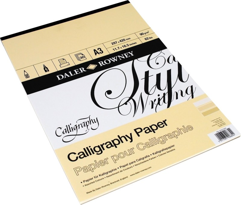 Daler-Rowney Series A3 Calligraphy Paper