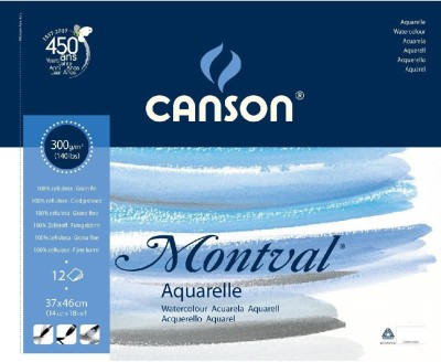 Canson Montval Unruled 37 x 46 CM Watercolor Paper