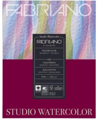 Fabriano Studio Watercolor Paper