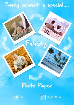 Felicity Super Series Unruled A4 Photo Paper
