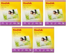 Kodak Gloss Unruled A4 Photo Paper