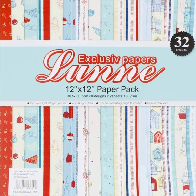 Tootpado Art Unruled 12 x 12 Craft paper