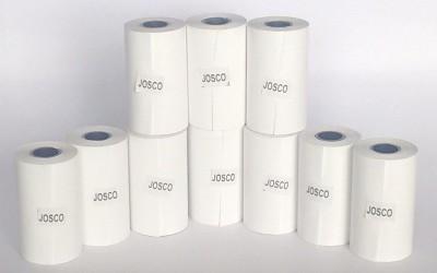 Josco Thermal plain 57mm x 30 Mtrs Length Paper Roll