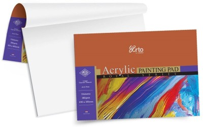 Campap Arto Royal Four Sided Glued A4 Acrylic Paper