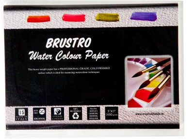 Brustro Watercolor Paper 300 gsm Pack (5