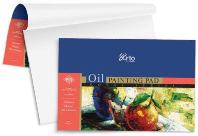 Campap Arto Royal Four Sided Glued A3 Oil Painting Paper