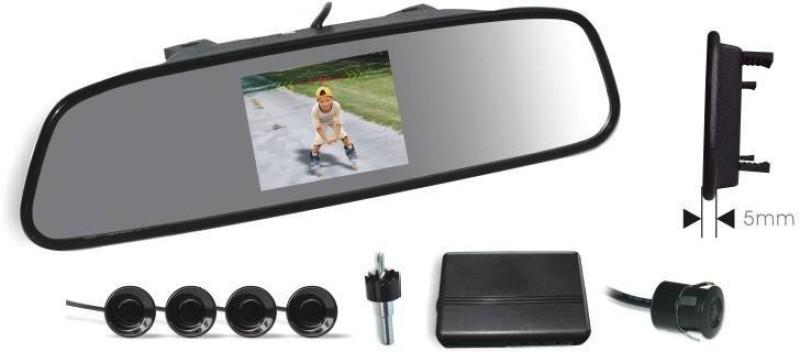Koizer VPS01 rvm With Camera, Sensors, And Buzzer (Clip-On) Parking Sensor(Ultrasonic Systems)