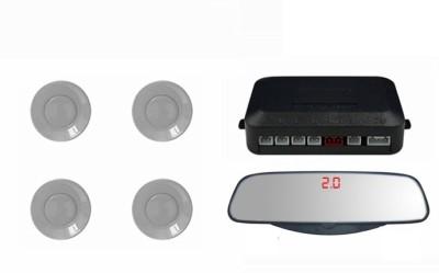 Speedwav 108409 Mirror Screen Voice Assist Reverse SILVER-Hyundai Tucson Parking Sensor