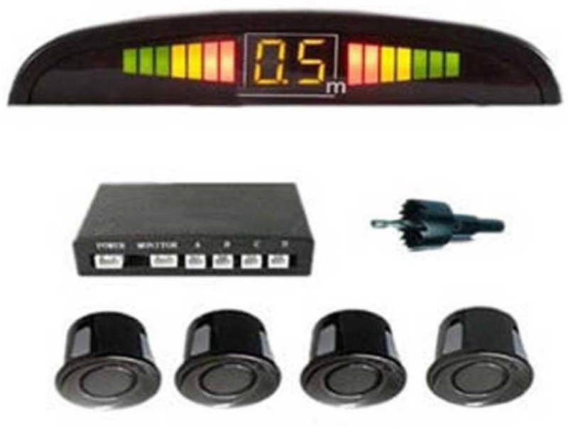 CP Bigbasket a2 Car Reverse for all cars(black) Parking Sensor(Ultrasonic Systems)