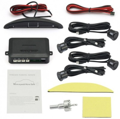 Ultra Fit Black Universal for all Cars Parking Sensor