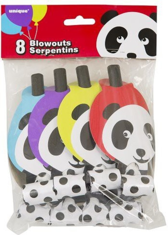 Unique 45562 Party Blowouts(Pack of 8)