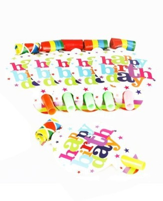 Funcart Star Birthday Party Blowouts
