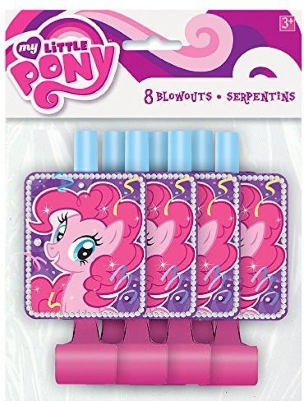 Unique 44662 Party Blowouts(Pack of 8)
