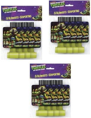 Unique 721083000000 Party Blowouts(Pack of 24)