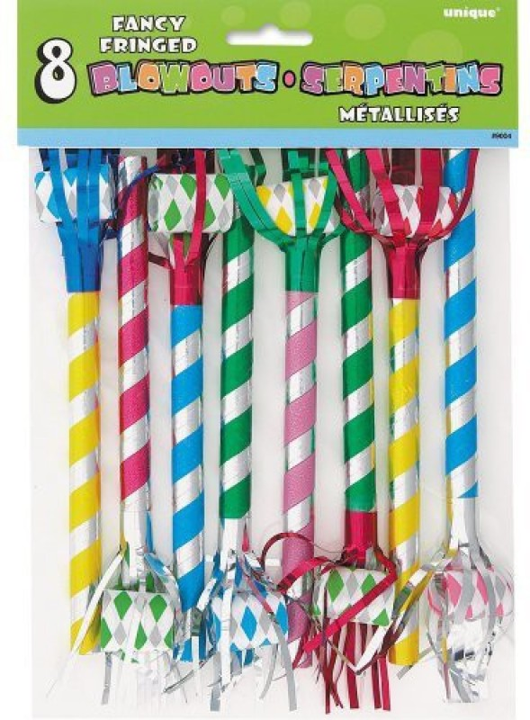 Unique 9004 Party Blowouts(Pack of 8)