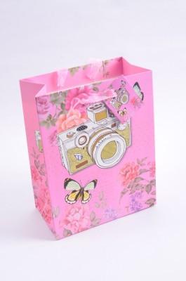 Enwraps Vibrant Series Camera Print Big (1 pc) Printed Party Bag