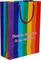Arrow Paper Bags Printed Party Bag(Multicolor, Pack of 25)