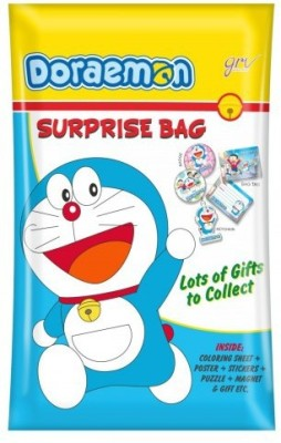 GRV Kreations Doraemon Suprise Bag Printed Party Pouch