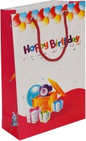 Arrow Paper Bags Birthday Printed Party Bag(Multicolor, Pack of 25)