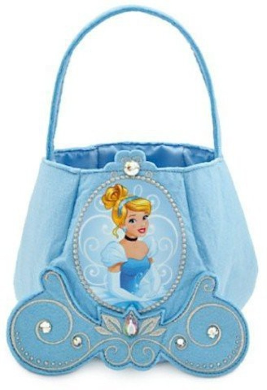 Disney Printed Party Bag(Blue, Pack of 1)