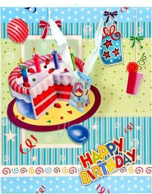 Treasure Trunk Cake Design Gift Printed Party Bag