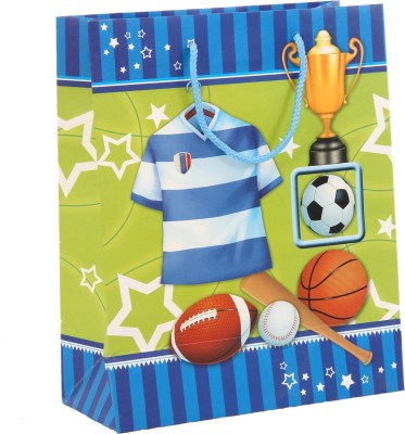 Treasure Trunk Sports Design Gift Printed Party Bag